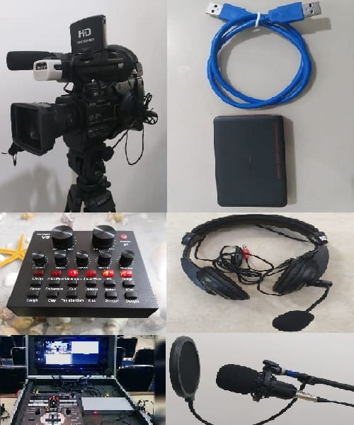 Sewa Video Capture Card, Kamera, Sound Card, Alat Live Streaming