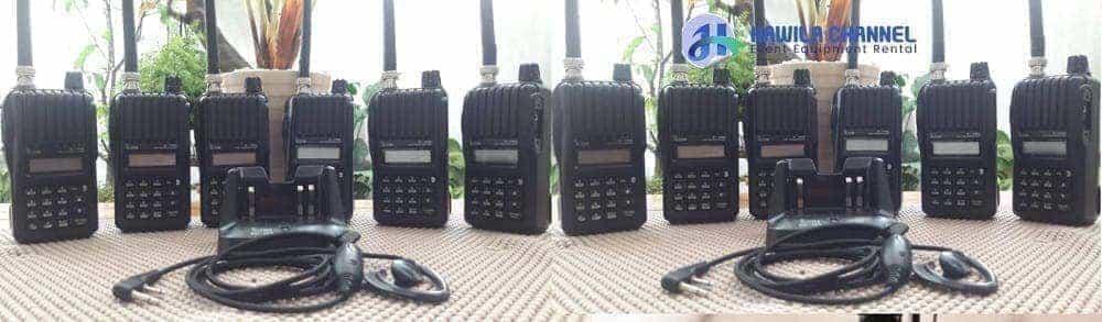Sewa HT 4G LTE Jakarta | Handy Talky Icom IC-V80